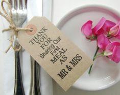 Wedding Table Decor-Wedding Place Cards-Wedding by IzzyandLoll