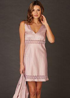 Fine Cotton Nightgown, Sun Showers Cotton Chemise - Only $69 through 7/30: http://www.juliannarae.com/products/sun_showers_cotton_chemise1.htm?salecategoryID=10&color=WISP