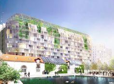 SOA Architectes Paris > Projets > ZAC CARDINET CHALABRE