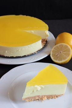 Tarta de limón sin horno Cheesecake, Great Recipes, Favorite Recipes, Recipe For 4, Sin Gluten, Healthy Baking, How To Make Cake, Deli, Catering