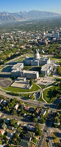 Utah State Capitol Building - SLC, Utah