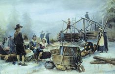 The Pilgrims first winter was harsh and many died. The Granger Collection, New YorkThe Pilgrims landed at Plymouth in winter. Almost half of the new settlers died of disease and starvation during the first ...