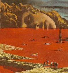 Detail of Front cover of The General Zapped An Angel by Howard Fast Cover artist is Karel Thole. Madara Susanoo, Arte Dope, Psy Art, Illustration Art, Illustrations, Neon Genesis Evangelion, The End Of Evangelion, Weird Art, Retro Futurism