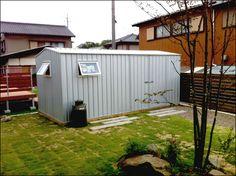 愛知県豊川市でユーロ物置完成|ユーロ物置施工事例 4523WK2【EURO SHED】|マルジュ|静岡県