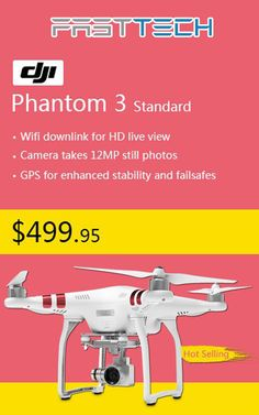 FastTech is offering Phantom 3 Standard at just $499.95. Order now and get this deal. For more FastTech Coupon Codes visit: http://www.couponcutcode.com/stores/fasttech_coupon_codes/