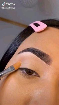 Dope Makeup, Edgy Makeup, Makeup Eye Looks, Eye Makeup Art, Crazy Makeup, Makeup Goals, Eyebrow Makeup, Eyeshadow Makeup, Makeup Inspo