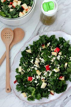 Kale Detox Salad with Lemon Vinaigrette