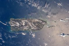 Puerto Rico From the Space Station Follow @GalaxyCase if you love Image of the day by NASA #imageoftheday