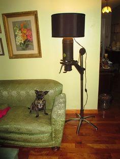 Upcycle Industrial Federal Photo Enlarger Floor Lamp | eBay