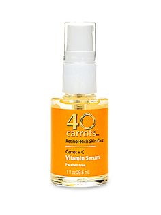 """For every anti-wrinkle cream that delivers, there are 20 that go kaput (we know; we've tried them all). Stick with what works."" ~ 40 carrots vitamin serum. The Ultimate Anti-Aging Routine You Can Buy at the Drugstore"