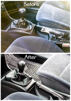 it yourself divas: DIY: How to Reupholster a Shift Boot and Hand Brake. Mine are new but I hate leather. Living Room Upholstery, Upholstery Tacks, Upholstery Cushions, Upholstery Cleaner, Furniture Upholstery, Auto Upholstery, Reupholster Car Seats, Passat Tdi, Car Buying Tips