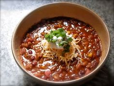bitsy Trinity: Chilly Day with Chili Con Carne
