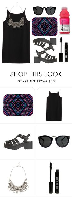 """""""crush"""" by baludna ❤ liked on Polyvore featuring Kess InHouse, T By Alexander Wang, Windsor Smith, Warehouse and Lord & Berry"""