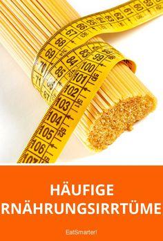 Häufige Ernährungsirrtümer: Was ist dran an diesen Mythen? | eatsmarter.de