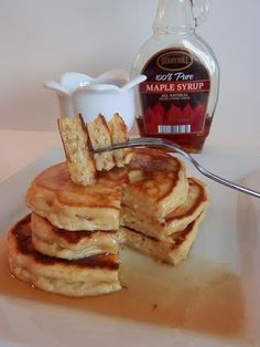 Light, fluffy, moist and delicious Ricotta Pancakes