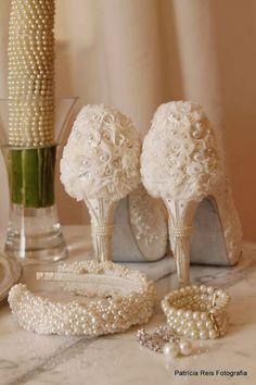 DeLira Noiva – Sapatos e Acessórios. Foto: Patrícia Reis