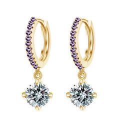 Austrian Crystal Stud Earrings