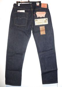 433f15d4 LEVIS 501 VINTAGE CLOTHING LVC 1966 CONE MILLS SELVEDGE USA MADE JEANS FROM  1999   eBay