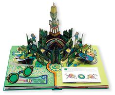 Wizard of Oz pop up book. My sister gave me this book at my baby shower and it is by far the coolest pop-up book, I have ever seen!  If you're a fan of Wizard of Oz like I am, you have to get this book!