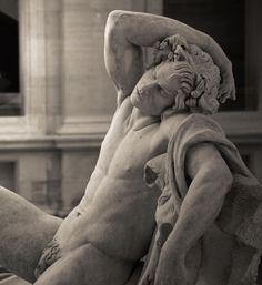 Faune endormi by  Edme Bouchardon (1726 - 1730) Musée du Louvre, Paris