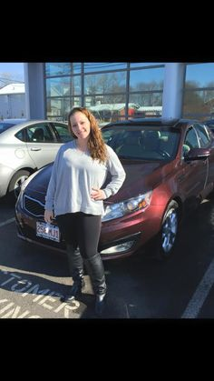 Congratulations goes out to Elaine Aliengena who picked up her loaded 2012 Kia Optima Ex TURBO! Wow! And what a beautiful day it was to pick up her new ride! Elaine decided it was time to get rid of her 1999 Volkswagen and Mike Robare, one of our top elite sales consultants did everything he could to find her the best deal! Welcome to the Gary Rome Kia family, Elaine!  Www.GaryRomeKia.com or call us at (860) 253-4754