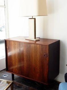 Pair of Danish Rosewood Cabinets 1980s