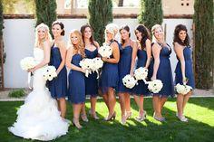love the bridesmaids colour