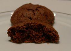 Lacitrom konyha: Nagyon puha csokis keksz Food And Drink, Cookies, Desserts, Christmas, Crack Crackers, Tailgate Desserts, Xmas, Deserts, Biscuits