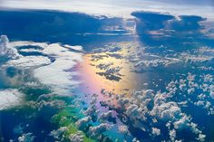 i don't have words for how beautiful this is, monsoon clouds over indian ocean,  by #Frans_Lanting