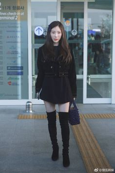 Uploaded by Always_GG. Find images and videos about kpop, snsd and taeyeon on We Heart It - the app to get lost in what you love. Snsd Airport Fashion, Taeyeon Fashion, Kpop Fashion, Korean Fashion, Girl Fashion, Ulzzang Fashion, Daily Fashion, Sooyoung, Yoona