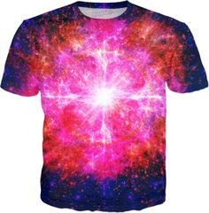 Flaming Eye in Space | Rave & Festival Shirt