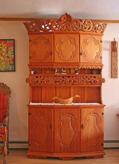 Norsk Wood Works -- Wall Cabinets and Hutches
