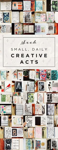 Daily journal pages by Brittney Zeller-Holland from Two If By Sea Studios; she also has a Tumblr account where she frequently posts her sketchbook work: http://twoifbyseastudios.tumblr.com/  #art_journal