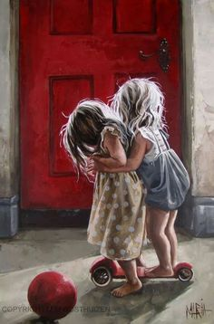 Original Fine Art Painting by Maria Magdalena Oosthuizen. Medium: Acrylic on Canvas. Stretched, and Blocked, Not Framed. Image Foto, South African Artists, Arte Disney, Painting People, Love Art, Painting & Drawing, Amazing Art, Illustration, Art For Kids
