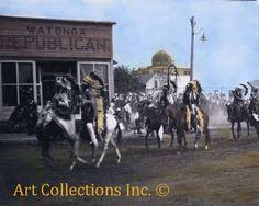 Indians Parade in Watonga, Oklahoma September 12, 1912