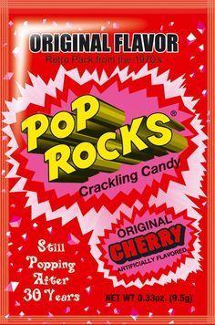 Pop Rocks Original Cherry - oz by Pop Rocks Candy in Retro Nostalgic Candy 1970s Candy, Retro Candy, Vintage Candy, Vintage Toys, Vintage Stuff, My Childhood Memories, Childhood Toys, Sweet Memories, Pop Rocks