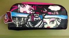 Monster High Pencil and School Supplies Zippered Case New with 48 Piece Puzzle | eBay