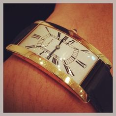 #Cartier wrist watch