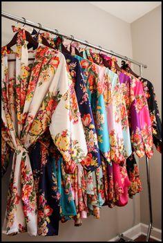 Set of 1,2,3,4,5,6,7,8,9 bridesmaid robe, bridesmaid gift, gift for bridesmaid, robe for bridesmaid, bridesmaid robe, bridal party robe by BridalDreamRobes on Etsy https://www.etsy.com/listing/476627207/set-of-123456789-bridesmaid-robe