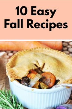 10 Easy Fall Recipes. easy fall recipes dinner healthy, easy fall recipes dessert Fall Dinner Recipes, Fall Dessert Recipes, Fall Recipes, Healthy Dinner Recipes, Dinner Ideas, How To Eat Less, Budget Meals, Food To Make, Meal Planning