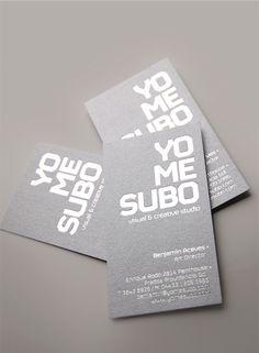 Unique Business Card, Yomesubo #BusinessCards #Design (http://www.pinterest.com/aldenchong/)