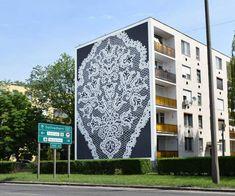 #nespoon #kiskunhalas #lace #gigant #óriáscsipke #csipke #hugelace #hungary #streetart #art #painting #paint #hungarian #hungarianlace #downtown