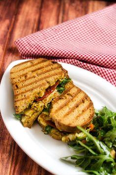 Cilantro pesto, Grilled veggies and Cilantro