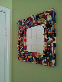 Lego Inspired Wooden letters  Christmas is right around the corner or that  special gift for
