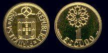 1 Escudo - Latão Níquel, 1987