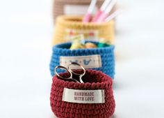 Crochet nesting bowls,  Free and adorable, thanks so xox