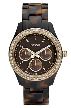 Fossil Tortoise Watch...Just as cute, but half the price of the Michael Kors version!!