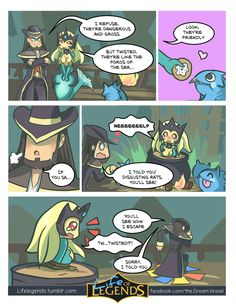 Life of Legends #69 they're like the poros of the sea… Patreon - facebook- twitter