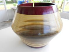 This wooden yarn bowl by PatsSanta makes me want to take up knitting just so I can have such a beautiful bowl!  :-)