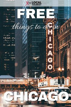 Find free things to do in Chicago, Illinois. #USA